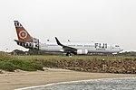 Fiji Airways (DQ-FJM) Boeing 737-86J(WL) taxiing at Sydney Airport.jpg