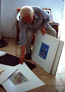 Enrique Tábara Ecuadorian painter