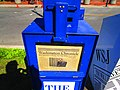 Film crew for the TV series 'Condor' installed faux newspaper boxes on this Toronto street, to make it look like Washington, DC, 2017 05 30 -b (34889821942).jpg