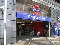Finsbury Park tube stn entrance Station Place.JPG