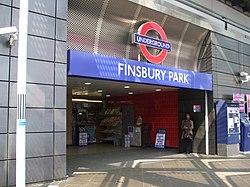フィンズベリー・パーク駅