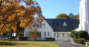 First Baptist Church of Wollaston - Image: First Baptist Church of Wollaston Quincy MA 02
