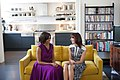 First Lady Michelle Obama and Samantha Cameron, wife of British Prime Minister David Cameron.jpg