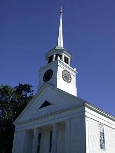 First Parish Church in Groton