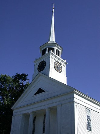 Groton, Massachusetts - First Parish Church