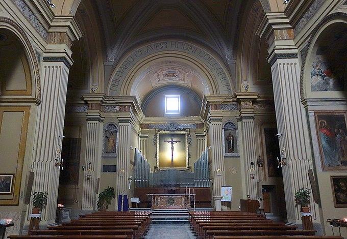 Fiuggi San Pietro Orgel (1)