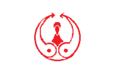 Flag of Former Matsusaka Mie red version.png