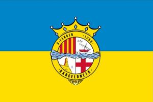 La Barceloneta, Barcelona - Image: Flag of La Barceloneta