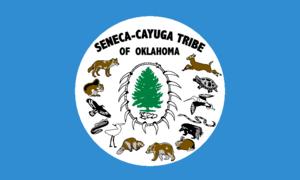 Seneca-Cayuga Nation - Flag of the Seneca-Cayuga Tribe of Oklahoma