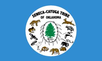 Seneca–Cayuga Nation - Flag of the Seneca-Cayuga Tribe of Oklahoma