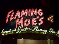 Flaming Moe sign.JPG