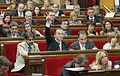 Flickr - Convergència Democràtica de Catalunya - Oriol Pujol, Turull i Espadaler en una votació al debat de política general.jpg