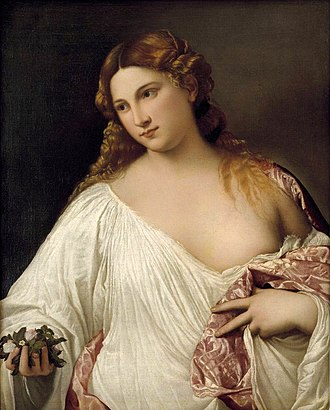 Flora (mythology) - Image: Flora, por Tiziano