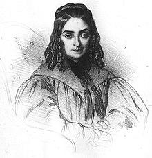 Flora Tristán en sus últimos años.