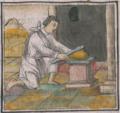 Florentine Codex Fol 54 plateros regla medición metal oro.png