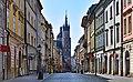 Floriańska street (view from N), Old Town, Krakow, Poland.jpg
