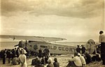 Fokker F.VIIa Old Glory on beach (8091753228).jpg
