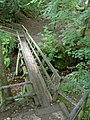 Footbridge crossing The River Noe Edale - geograph.org.uk - 941867.jpg