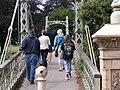 Footbridge over the river Wye - geograph.org.uk - 970369.jpg
