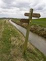 Footpath junction near Halsham - geograph.org.uk - 1767424.jpg