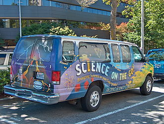 Pacific Science Center - A Science Center van