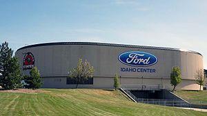 Ford Idaho Center - Exterior of arena (c.2015)