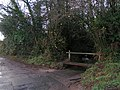 Ford and footbridge south of Stowford farm - geograph.org.uk - 1616844.jpg