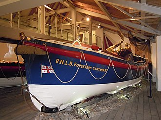RNLB Forester's Centenary (ON 786) - Image in Spring 2010