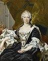 Formal painting of Queen Isabel in circa 1740 by Louis Michel van Loo.jpg