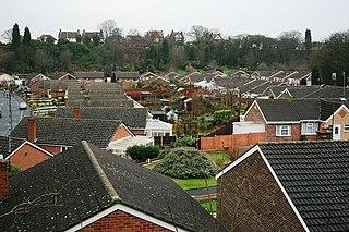 Mapperley Area of north-eastern Nottingham, England