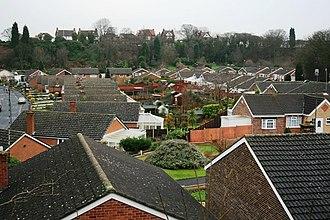 Mapperley - Image: Former Mapperley Brickworks geograph.org.uk 307645