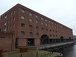 Former Warehouse On North Side Of Stanley Dock Titanic Hotel Stanley Dock Regent Road Liverpool Merseyside England UK - View 1.jpg