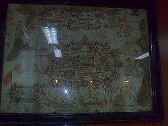Murud-Janjira - Fort Murud-Janjira paintings from the 17th century in the style of Mughal painting