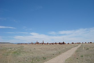 Fort Union National Monument - Image: Fort Union National Monument landscape