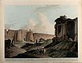 Fort of Sher Shah Sur, Delhi. Coloured aquatint by Thomas Da Wellcome V0050472.jpg