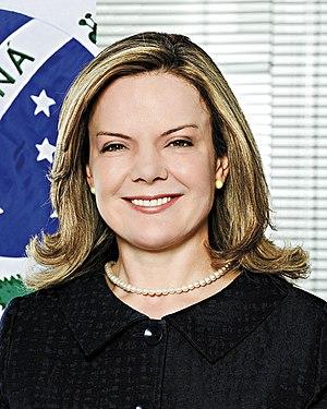 Gleisi Hoffmann - Image: Foto oficial de Gleisi Hoffmann