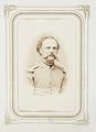 Fotografiporträtt på major Louis Pflaum, 1860-tal - Hallwylska museet - 107823.tif