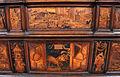 Fra Damiano da Bergamo, dossale del presbiterio di s. domenico, 1528-38, san giovannino con l'agnellino, adorazione dei magi.JPG