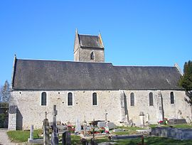 The Church of Sainte-Radegonde
