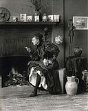 "Frances Benjamin Johnston, Self-Portrait (as ""New Woman""), 1896.jpg"