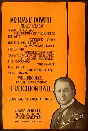 Frank Powell - Advertisement (1916)