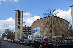 Iglesia de Todos los Santos, Frankfurt am Main (1953)