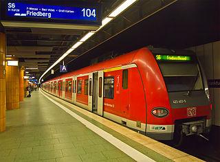 Frankfurt (Main) Hauptbahnhof underground railway station
