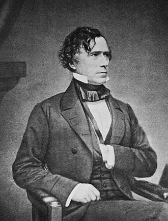 1852 United States presidential election in California - Image: Franklin Pierce by Brady