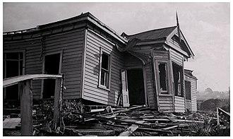 Frankton, Hamilton - Frankton Tornado, August 1948