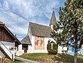 Frauenstein Lorenziberg Filialkirche hl. Laurentius SW-Ansicht 21042020 8798.jpg