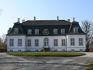 country house on the Furesø Lake north of Copenhagen, Denmark
