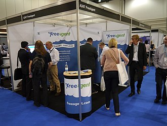 FreeAgent - FreeAgent stand at Accountex 2013