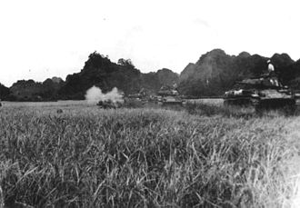 Battle of Dien Bien Phu - The French deployed a small number of M24 Chaffee light tanks during the battle that proved critical in repelling the enemy attacks.