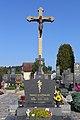 Friedhofskreuz Langegg (Gemeinde Schrems) 2019-09.jpg